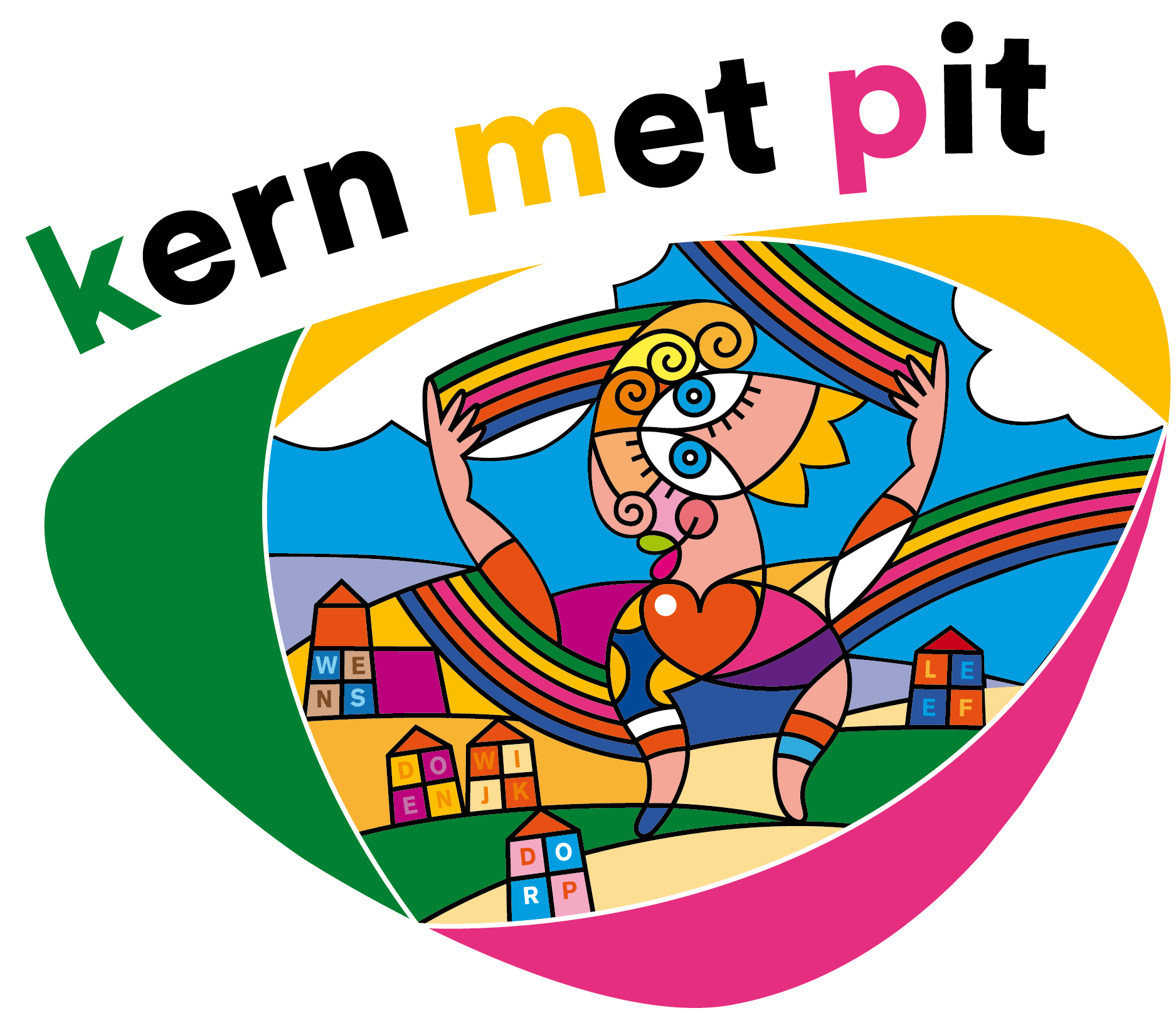 logo kern met pit